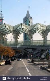 Modern Train Station Design Modern Architectural Design Of A Train Station Stock Photo