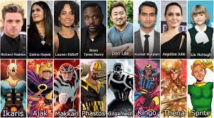 the Eternals Cast and their Characters ...