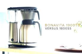 coffee maker troubleshooting versus reviews 5 cup bonavita with glass carafe