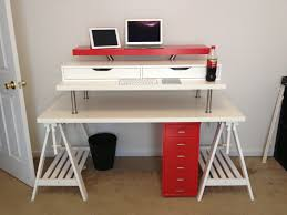 Standing Desk Extension 3 Ways To Convert Any Desk Into A Standing Desk Cnet