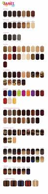 Janet Collection Wig Color Chart Janet Collection Color Chart Bsw Beauty Canada
