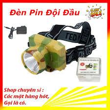 Đèn đội đầu 1 bóng sạc điện bóng LED siêu sáng cao cấp giá cạnh tranh