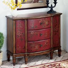 elegant character on red console table  home design studio