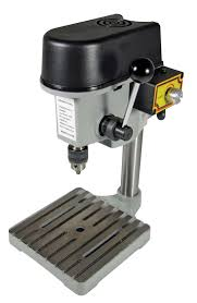 Demonstration Of MicroLux 82959 Benchtop Variable Speed Mini Small Bench Drill Press