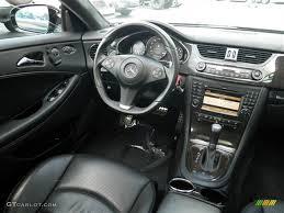 2009 Mercedes-Benz CLS 63 AMG Black Dashboard Photo #71096137 ...