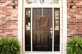 interior 27 pictures of black front doors entry satisfying brick house door simplistic 7
