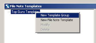 File Note Templates