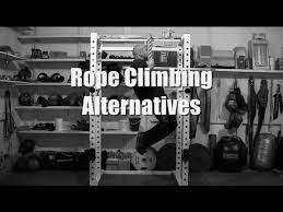 rope climbing alternatives you