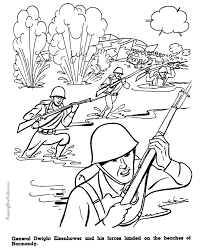 American History Military Coloring Pages For Kid 107
