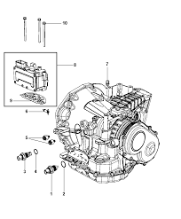 2009 chrysler town country sensors vents and quick connectors diagram i2217275