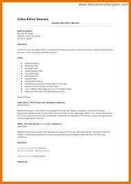 Video Production Resume Samples 9 10 Video Production Resume Templates Juliasrestaurantnj Com
