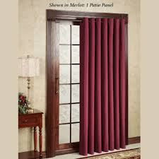 Maroon Curtains For Bedroom Patio Door Curtain Panels Touch Of Class