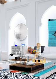 Designs by Style: White And Blue Design - Moroccan Interior Design