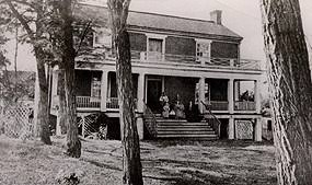 「McLean House (Appomattox, Virginia) map」の画像検索結果