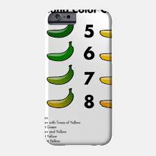 Limited Edition Exclusive Banana Color Chart