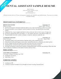 Dental Assistant Resume Objective Dental Assistant Resume Objective Resume Objective Samples For 33