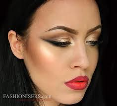 glam rock party makeup tutorial