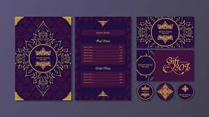 Thai Menu Fine Dining Restaurant Template Vector Download Free