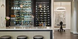 excellent home bar design with dark wooden modern cabinet captivating bars idea for half glass wine chic mini bar design