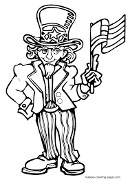 Independence Day Coloring Pages Getcoloringpagescom