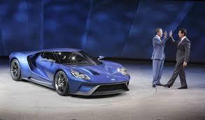 henry ford cars 2015. bill ford left greatgrandson of henry highfives cars 2015