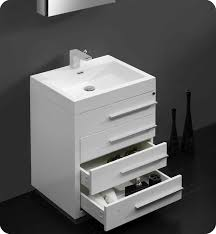 modern white bathroom cabinets. 24\ modern white bathroom cabinets