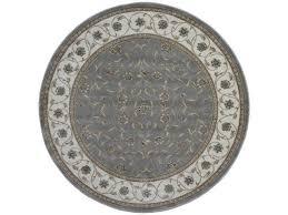 radici 3743 1005 grey 7 ft 10 round pisa area rug grey