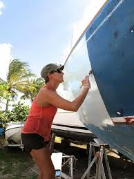 painting the hull