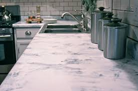 erstaunlich kitchen countertops refinishing kits faux marble countertop painting kit via smallspaces about com