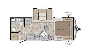 travel trailer floor plans. Keystone Cougar X-Lite 21RBS Travel Trailer Floor Plan Plans N