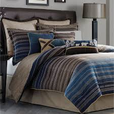 clairmont striped comforter bedding by croscill