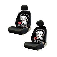 brand new set of 2 betty boop timeless front low back car seat covers 1 of 1only 3 available see more