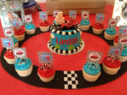 12 Disney Cars Birthday Cupcakes Photo Disney Pixar Cars Birthday