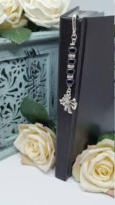 Zodiac Bookmark, Sagittarius Bookmark, Black Bead Star Sign Bookmark ...