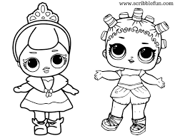 Lol Surprise Dolls Coloring Pages Doll 8 In Doll Coloring Pages