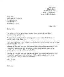 Template Of Letter Of Resignation Sudden Resignation Letter The Best Teaching Sample Four
