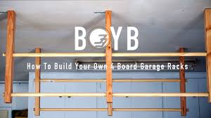 build on your budget how to build surfboard racks for your garage