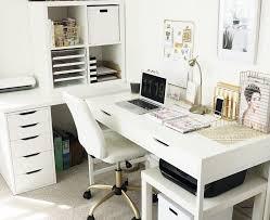 ikea office furniture ideas. Home Decorating Ideas Vintage IKEA Desk Over Corner. Corner Office. White Office, Chair, Colorless \u2026 \u2013 Awesome Design And Decor Ikea Office Furniture