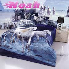 bed sheets with horses