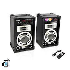 speaker stereo 800 watt audio radio aux party outdoor yard home disco sound play