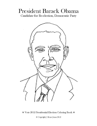 Small Picture Obama Coloring Pages For Kids Printable Free Books At Barack