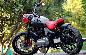 custom made bikes royal enfield