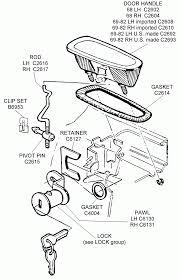 Door handle car door handle parts interior car door handle auto