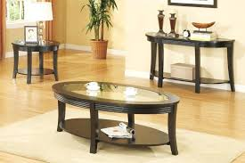 glass top wooden coffee table set round large square sets