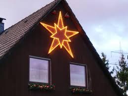 Beleuchteter Weihnachtsstern Für Giebelwand Bauanleitung