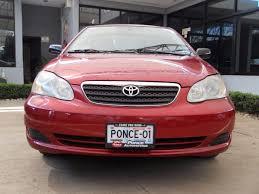 Toyota Corolla Ce Rojo 2007 - $ 127,000 en Mercado Libre