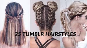 Braids Hairstyles Tumblr 25 Tumblr Hairstyles I Fall 2016 Youtube