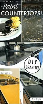 how to paint your look like granite marble with stone kits a simple and low cost