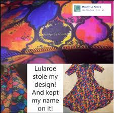 Lularoe Patterns Gorgeous Original Theft Mommygyver