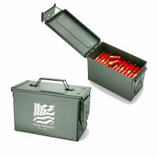 personalized metal ammo box 7 designs available
